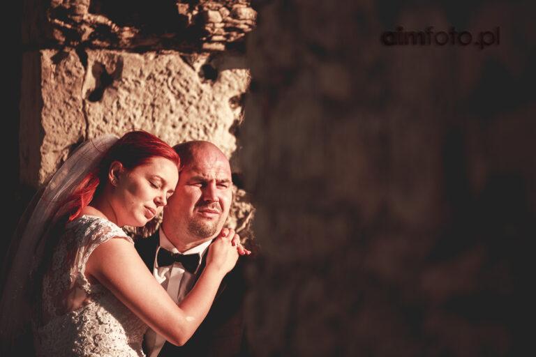 Sesja na zamku – Monika i Marcin
