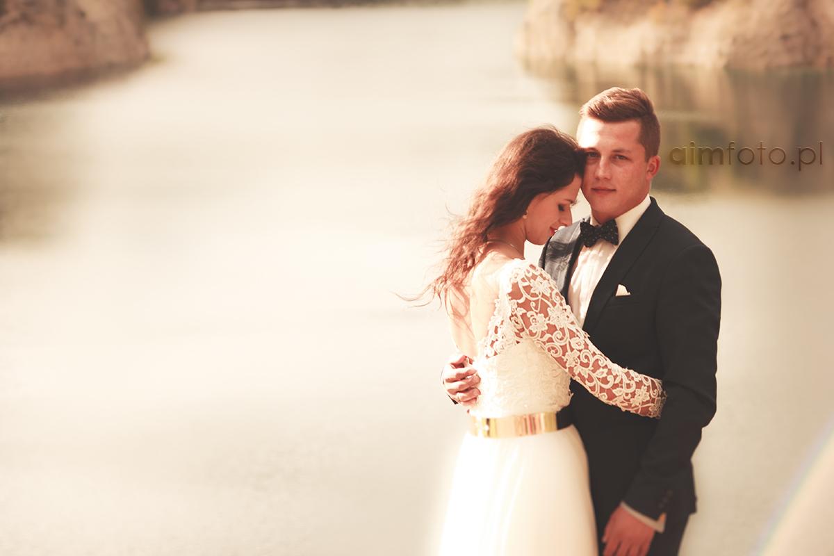 Romantyczna sesja ślubna Izy i Bartka