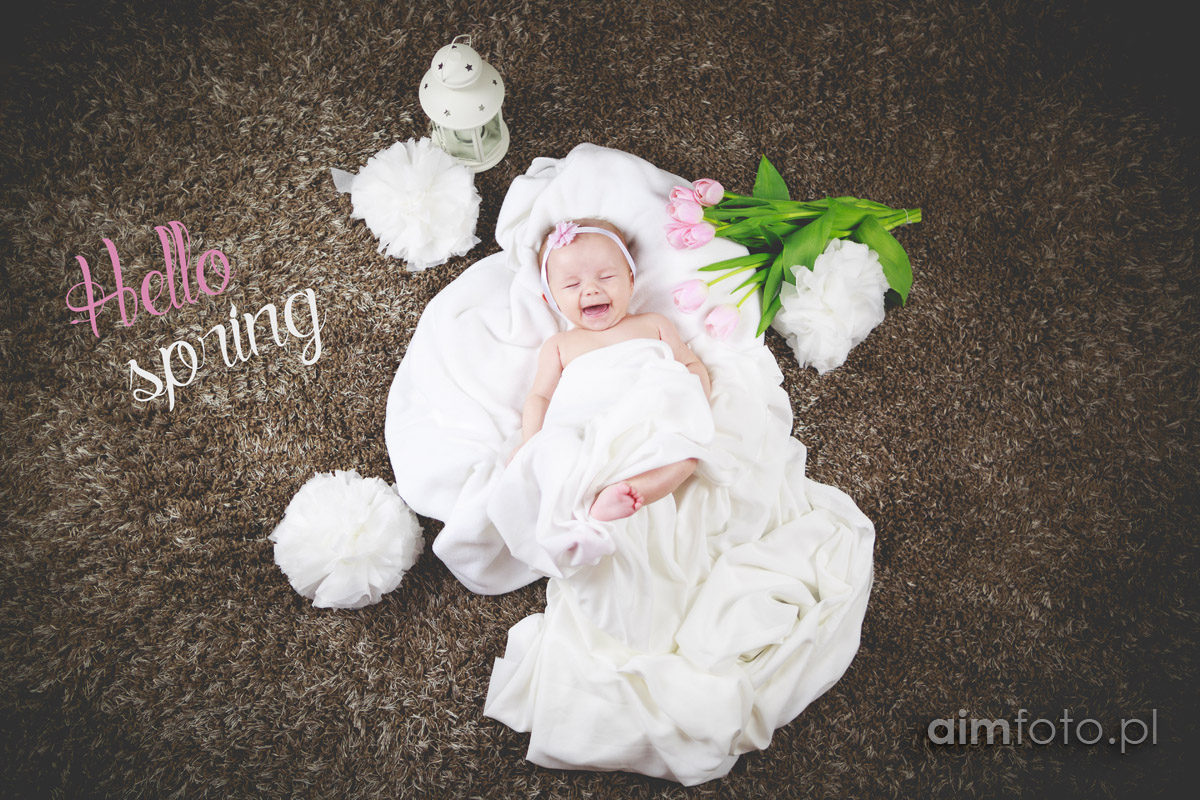 Sesja dziecięca – hello spring